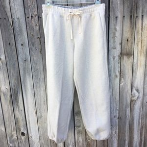 NWT Miles By Madewell Molly Cotton Fleece Pants M